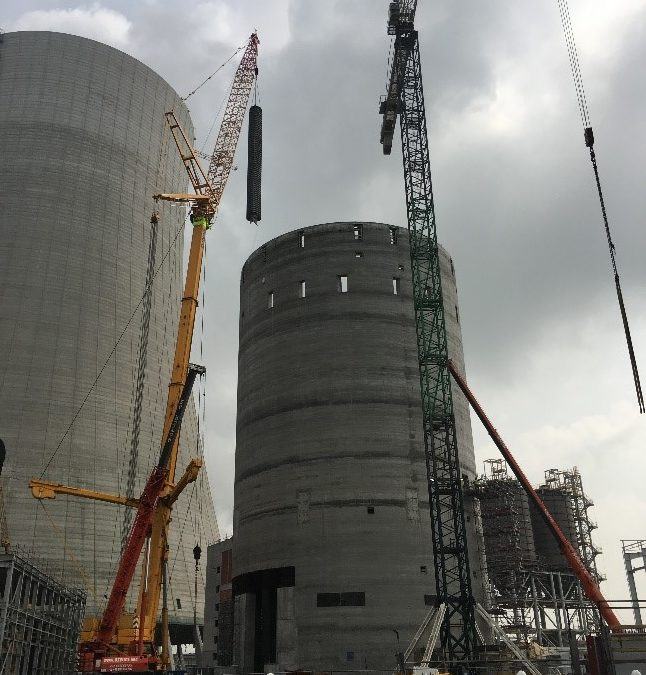 FGD-Gypsum Eurosilo for Jaworzno Power Plant